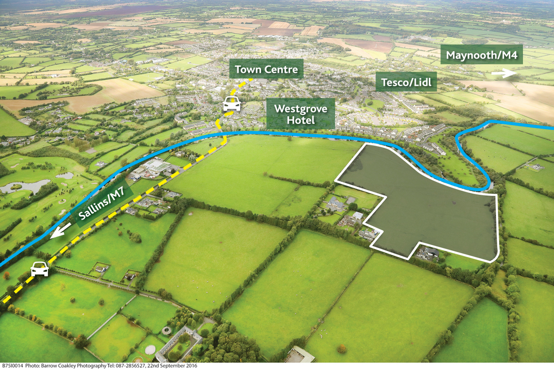 Post Auction Press Release – 31 acres, Blackhall, Clane, Co. Kildare
