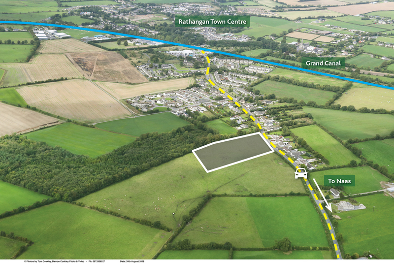 Press Release – Approx 3.95 acres – Full Planning Permission to develop 10 serviced sites – Rathangan, Co. Kildare