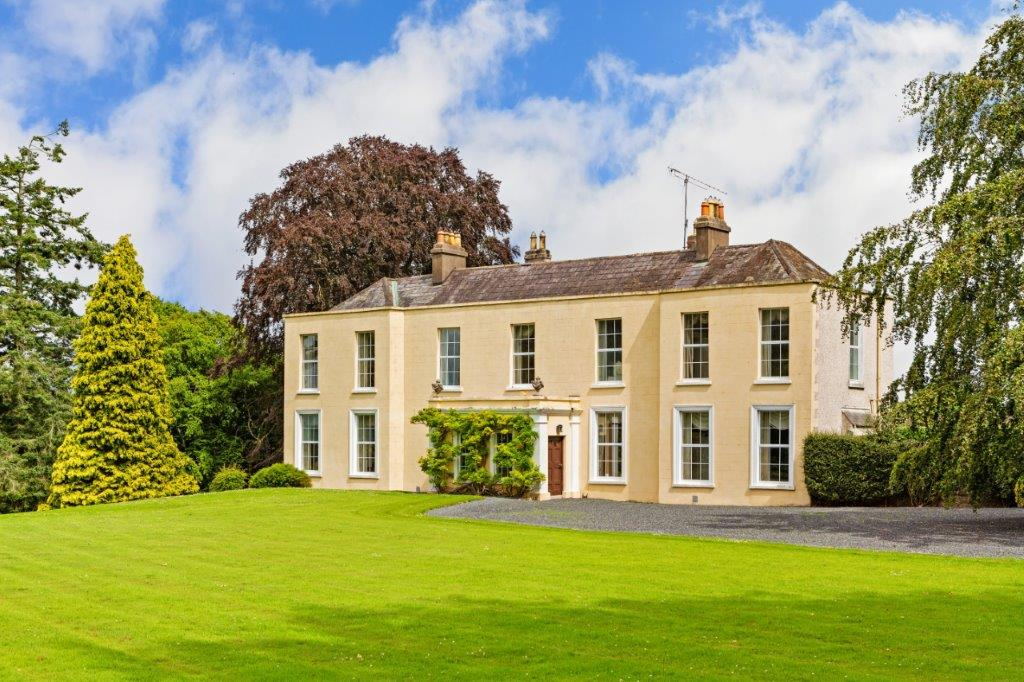 Castlesize nr. Naas, Co. Kildare on 36 acres makes €2.7 million.