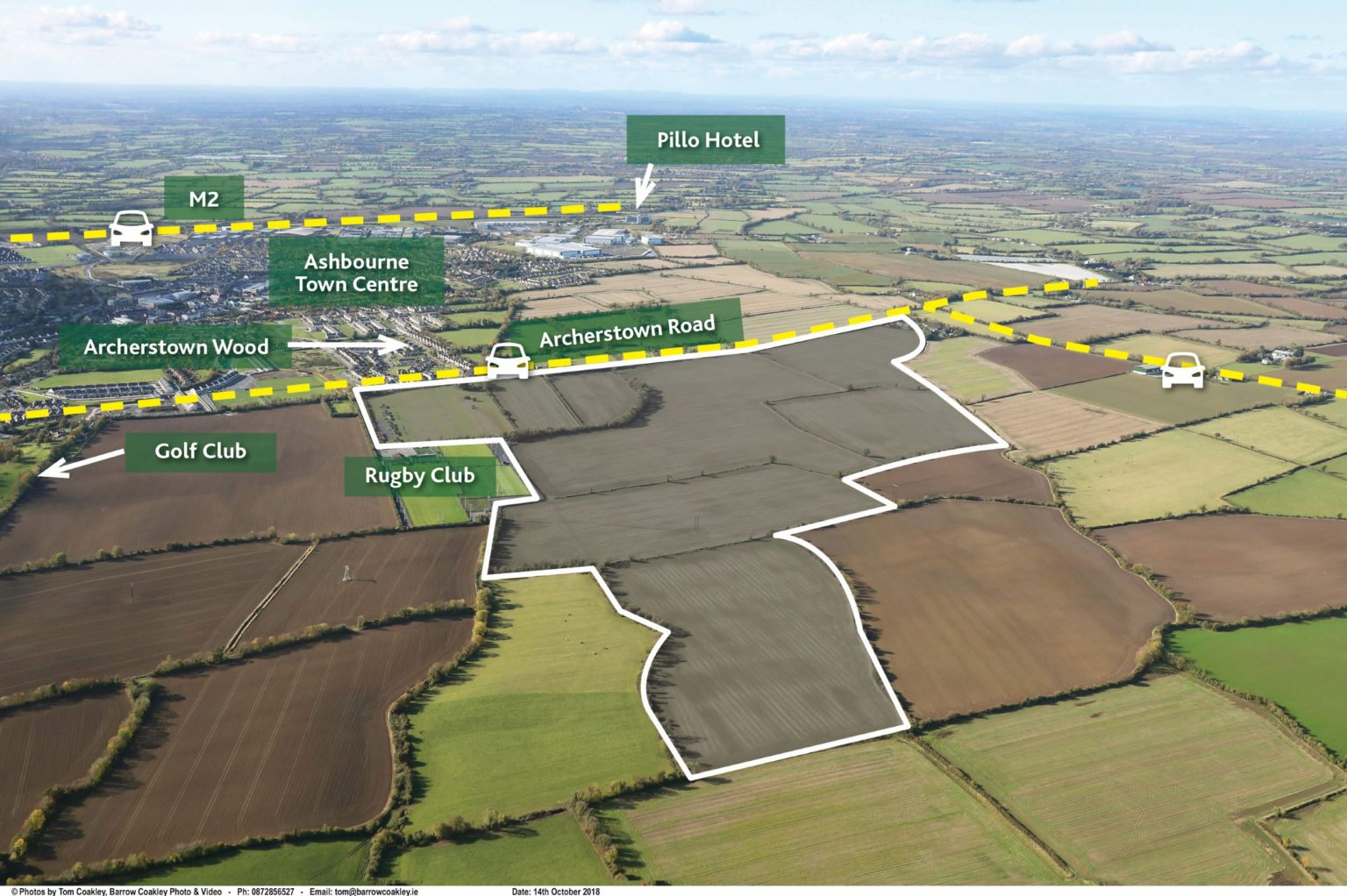 188 acres – Milltown, Ashbourne, Co. Meath.