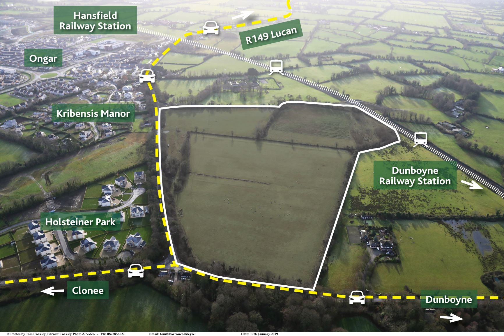 "39 acres, Hilltown, Clonee, Co. Meath – ""Prime landbank makes in excess of guide price"""