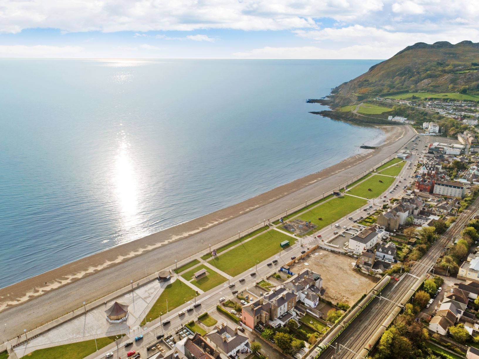 Head Space and Ocean Views in Ireland's Ancient East Strand View at Strand Road,  Bray, Co. Wicklow.