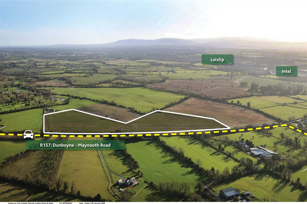 Done Deal in Dunboyne as Public Auction sees land sold for €620,000 (over €21,000 per acre).